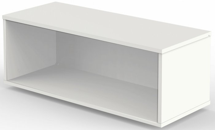 aufsatz regal f r schiebet renschrank prestige in weiss. Black Bedroom Furniture Sets. Home Design Ideas