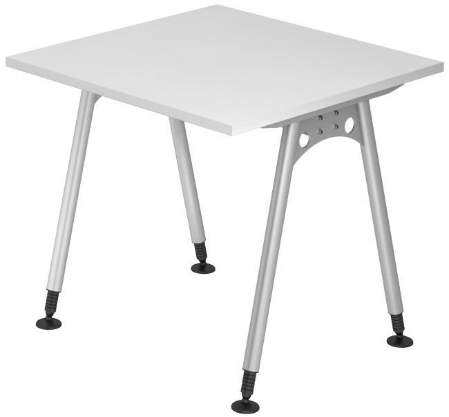 Schreibtisch alpha breite 80 cm x tiefe 80 cm dekor for Schreibtisch 80 cm hoch