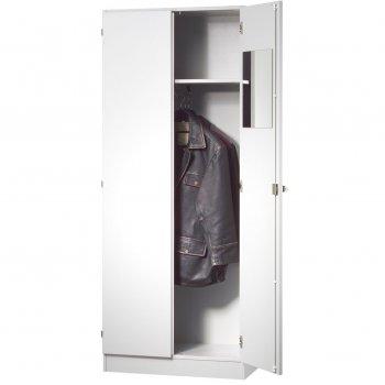 Garderobenschrank mit Türen 5 Ordnerhöhen | Breite 80 cm ...