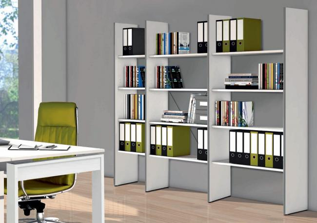 offenes anbauegal ohne r ckwand 5 ordnerh hen 78 cm breit dekor weiss. Black Bedroom Furniture Sets. Home Design Ideas