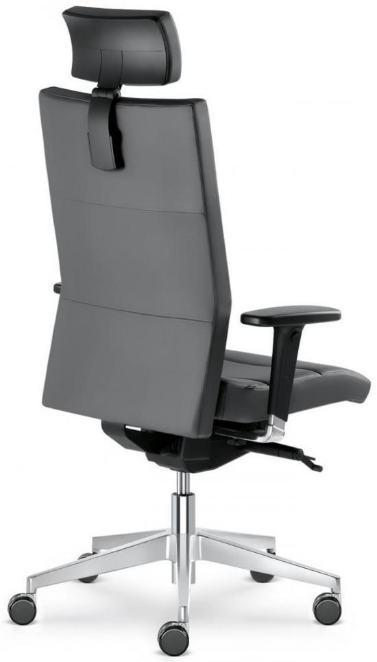 b rostuhl drehstuhl mod laser mit verstellbarer kopfst tze belastbar bis 150 kg. Black Bedroom Furniture Sets. Home Design Ideas