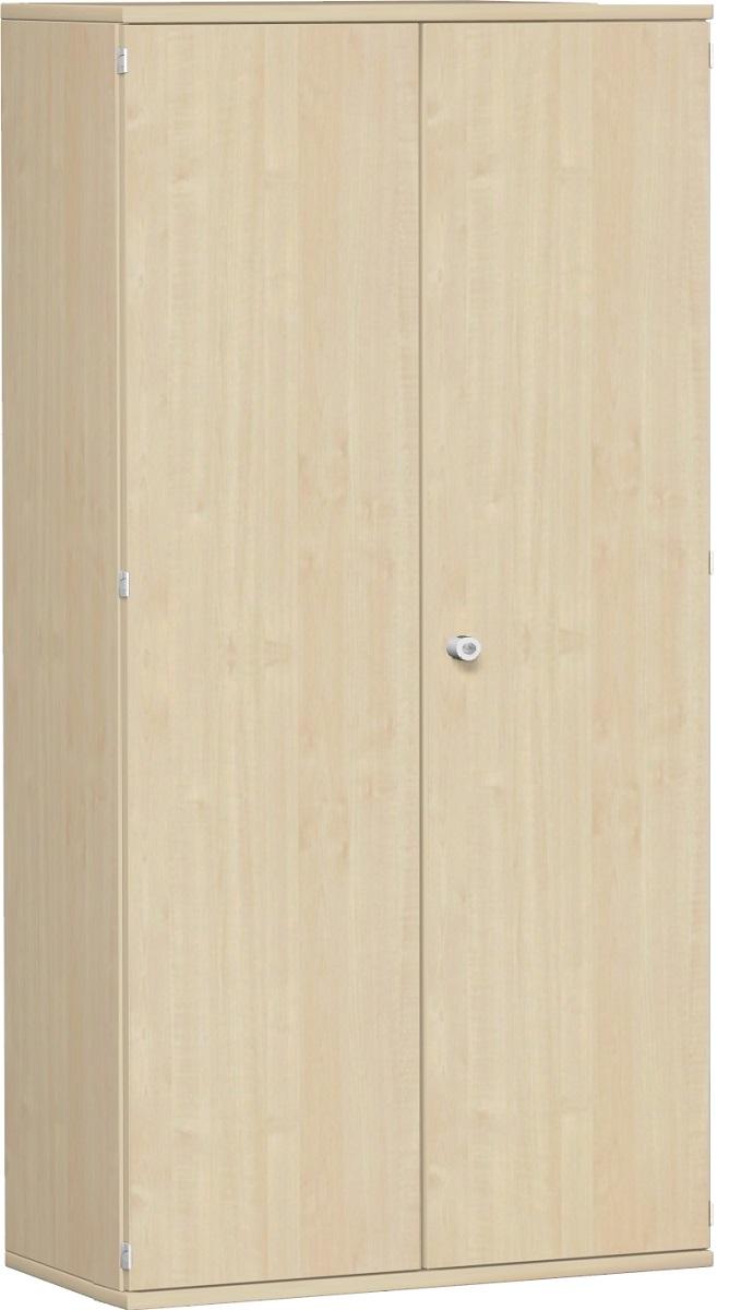 aktenschrank 5 ordnerh hen 100 cm breit montiert in ahorn buche grau nuss. Black Bedroom Furniture Sets. Home Design Ideas