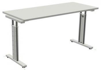 Schreibtisch style two breite 120 cm x tiefe 60 cm c fu for Schreibtisch buche 140 x 60