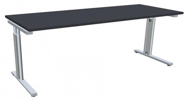 Schreibtisch Style Two Breite 200 Cm X Tiefe 60 Cm C Fuß Gestell