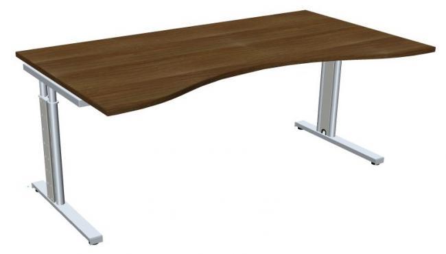 schreibtisch style two in nierenform 160x100 180x100 200x100 cm. Black Bedroom Furniture Sets. Home Design Ideas