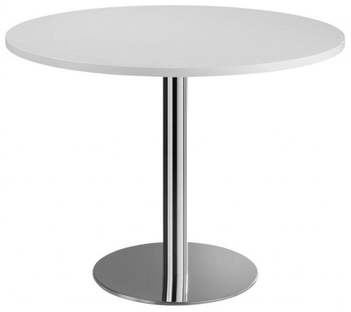 Runder Besprechungstisch Säulentisch Serie @classic | Ø 100 Cm